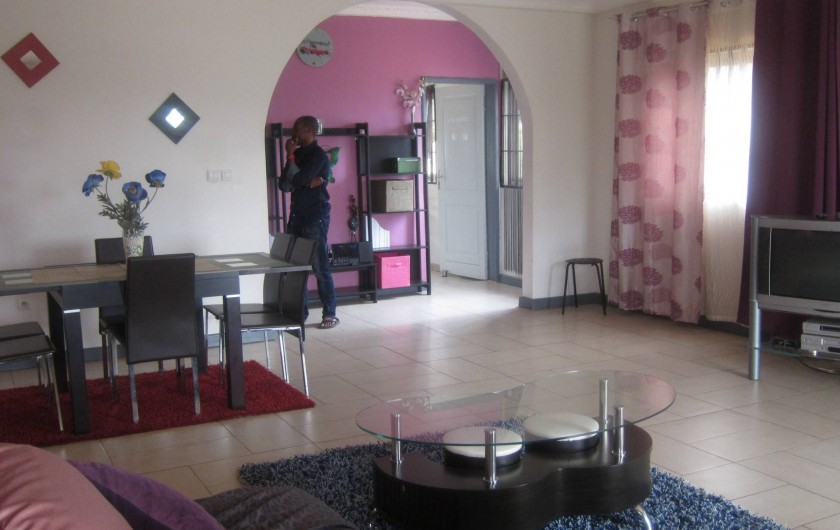 Location de vacances - Appartement à Yaoundé - Séjour Appartement Orchidée 2 Chambres