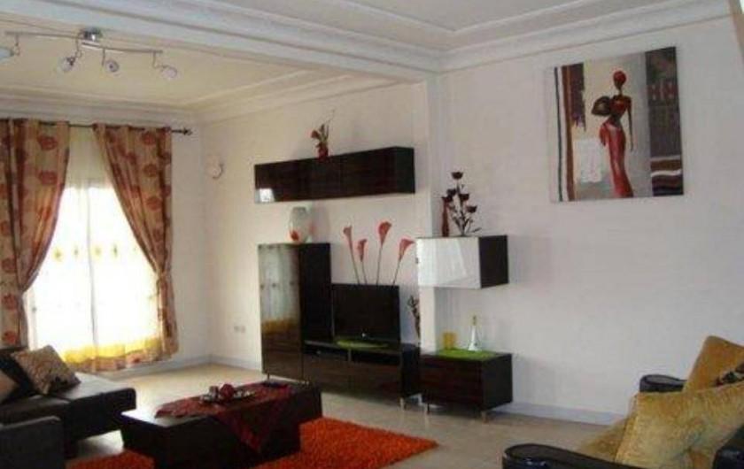 Location de vacances - Appartement à Yaoundé - Séjour Dahlia