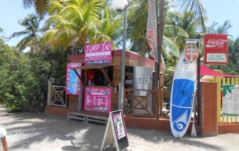 Location de vacances - Appartement à Les Trois-Îlets - Sports nautiques