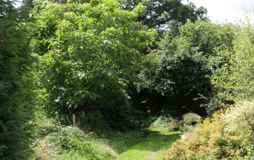 Location de vacances - Villa à Saint-Moreil - Piscine chauffée solaire, terraces, parasols, chaises