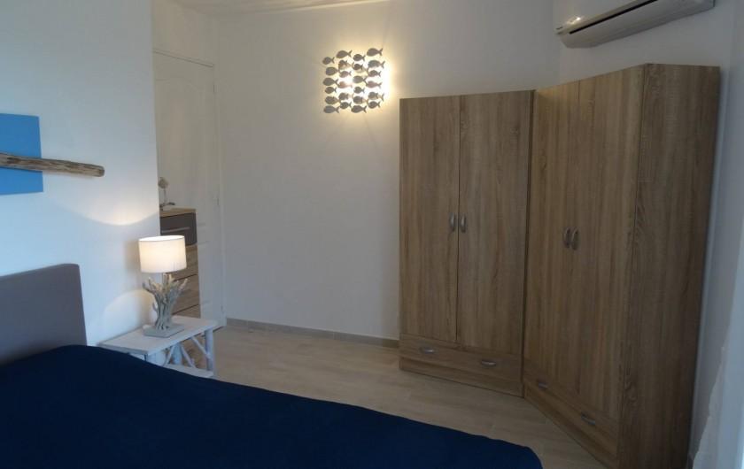 Location de vacances - Villa à Porto-Vecchio - La Chambre de l'Etage