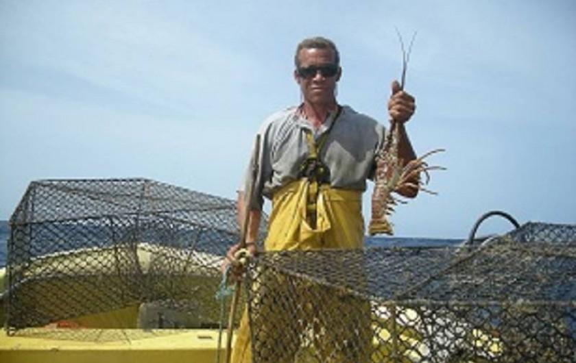 Location de vacances - Bungalow - Mobilhome à Deshaies - Max est pêcheur de langoustes