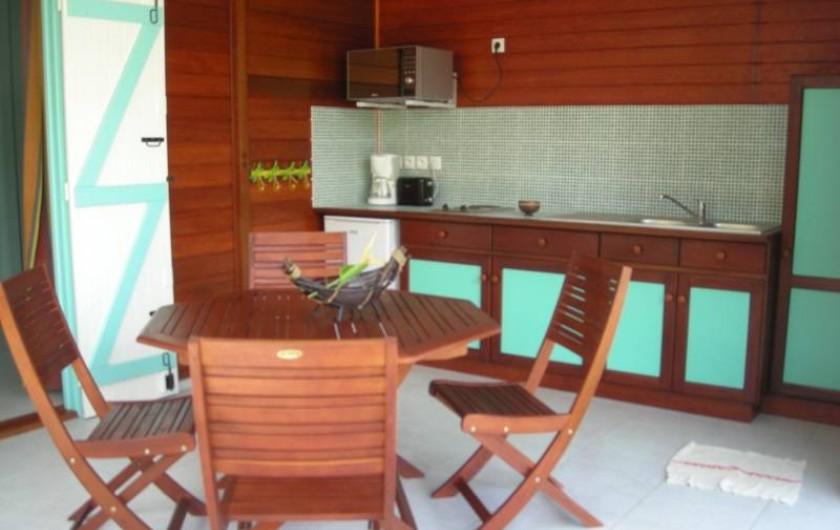 Location de vacances - Bungalow - Mobilhome à Deshaies - Gite Bambou