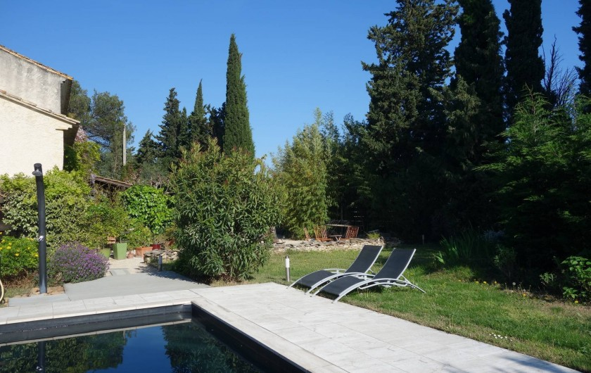 Location de vacances - Chambre d'hôtes à Saint-Geniès-de-Comolas - Table d'hôtes