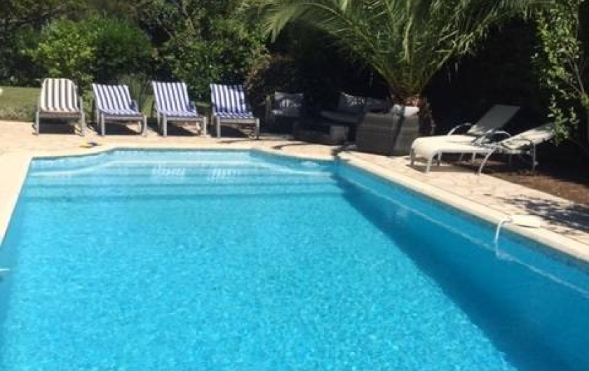 Location de vacances - Villa à Saint-Aygulf - ¨Piscine