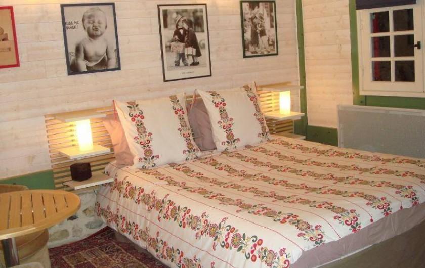Location de vacances - Gîte à Saint-Pierre-Azif - Le Shed - Chambre_5 en rez-de-jardin