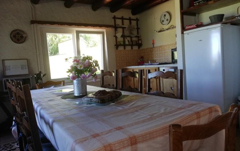 Location de vacances - Maison - Villa à Gerbépal - mini four cafetière filtre  et une Tassimo