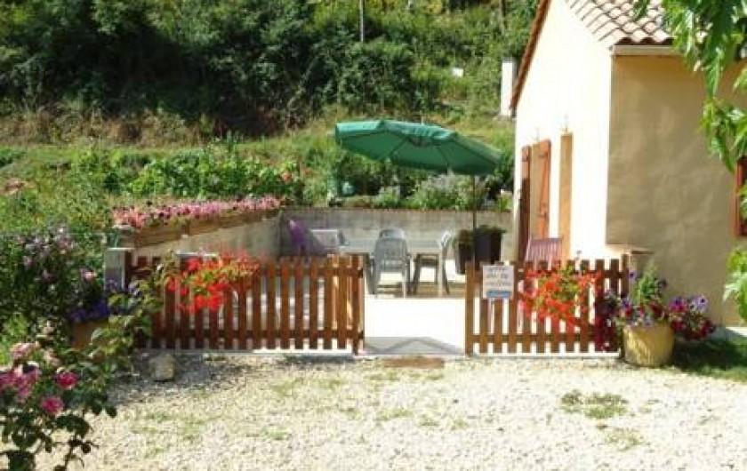 Location de vacances - Gîte à Siorac-en-Périgord - terrasse