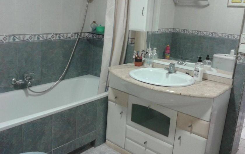 Location de vacances - Villa à Monòver - Salle de bain num.1