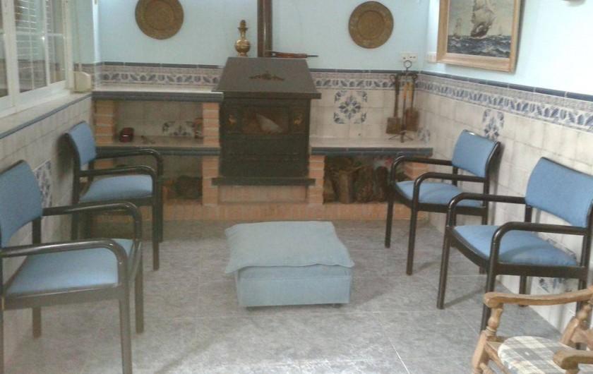 Location de vacances - Villa à Monòver - Salon d'hiver
