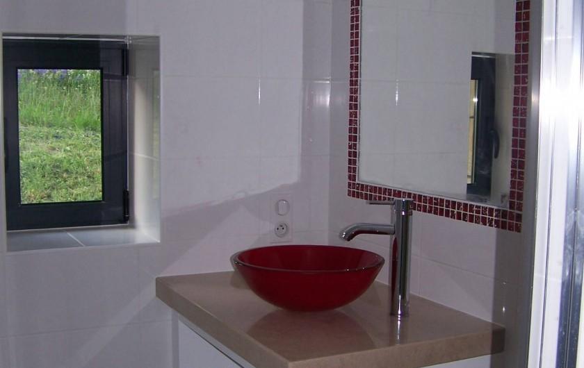 Location de vacances - Maison - Villa à Sarlat-la-Canéda - Salle de douche
