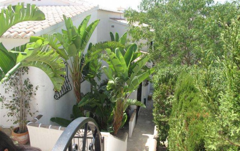 Location de vacances - Villa à El Poble Nou de Benitatxell - Arrivée