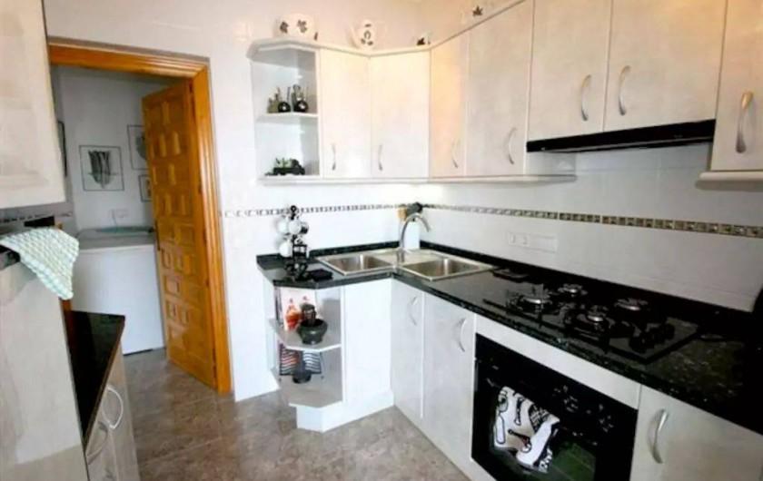 Location de vacances - Villa à El Poble Nou de Benitatxell - Cuisine d'été