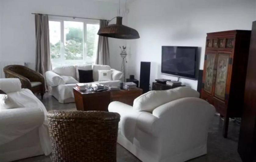 Location de vacances - Villa à El Poble Nou de Benitatxell - Salon