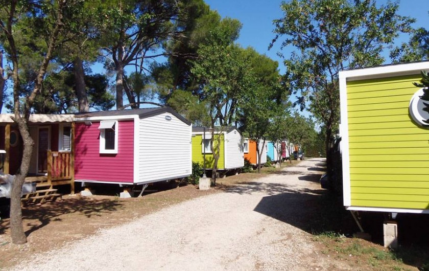 Location de vacances - Bungalow - Mobilhome à Gallargues-le-Montueux
