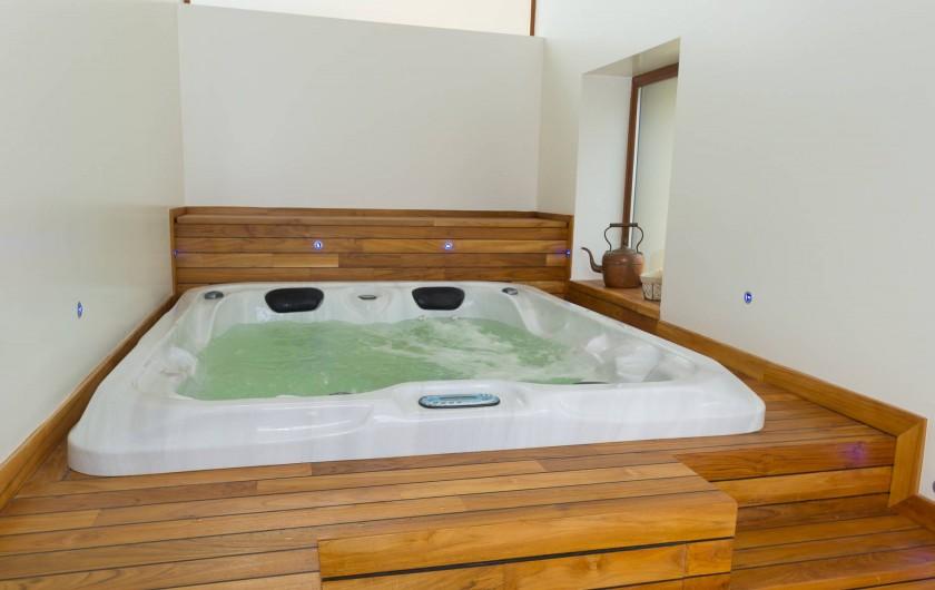 Location de vacances - Chambre d'hôtes à Saint-Lattier - spa
