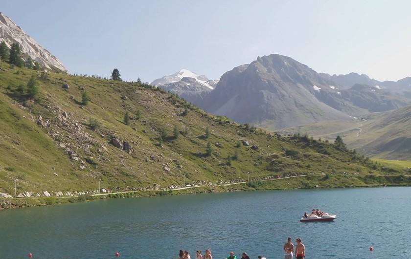 Location de vacances - Appartement à Tignes - le lac