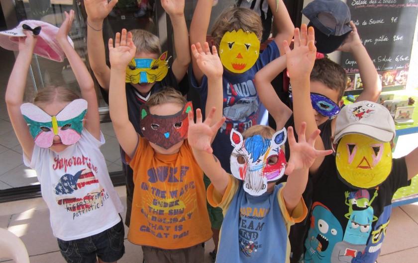Location de vacances - Bungalow - Mobilhome à Serres - Club enfants