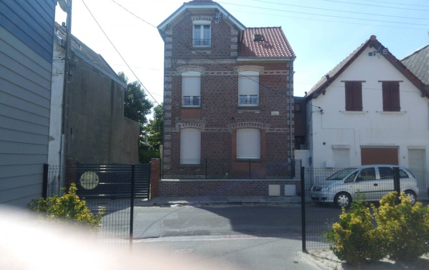 Location de vacances - Appartement à Berck - maison berckoise disposant de 2 appartements