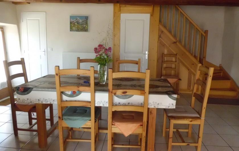 Location de vacances - Gîte à La Livinière - La salle à manger