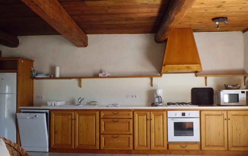 Location de vacances - Gîte à La Livinière - La cuisine