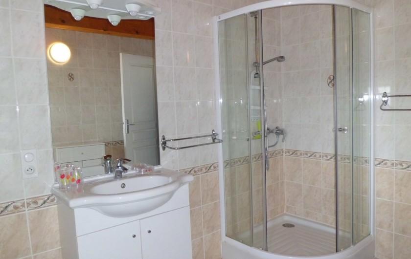 Location de vacances - Gîte à La Livinière - La salle de bain