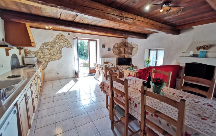 Location de vacances - Gîte à La Livinière - La pièce principale