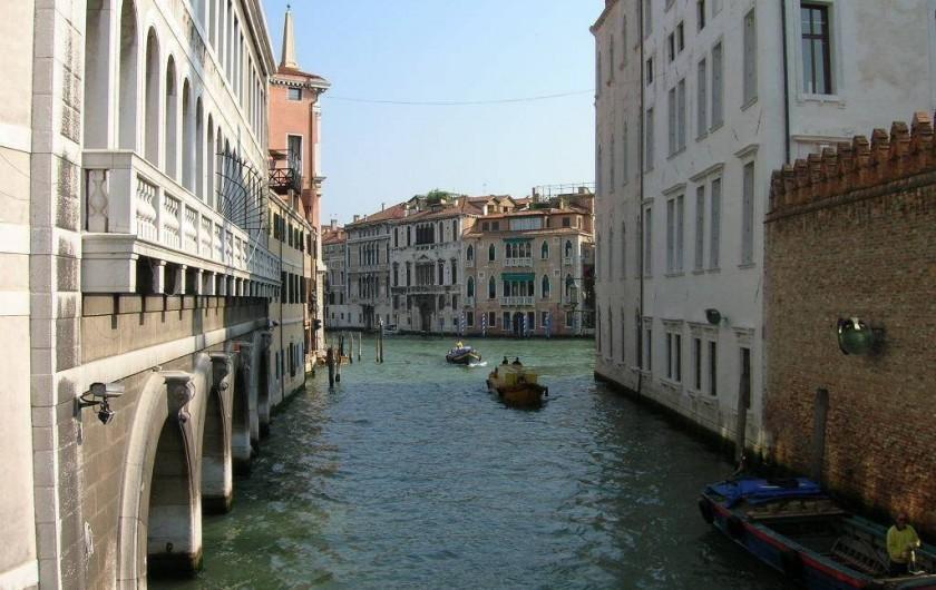 Location de vacances - Appartement à Venise - Gran Canal  20 metres de l'appartament