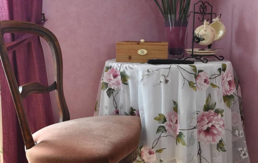 Location de vacances - Chambre d'hôtes à Melrand - Plateaux de courtoisie fourni dans chaque chambre