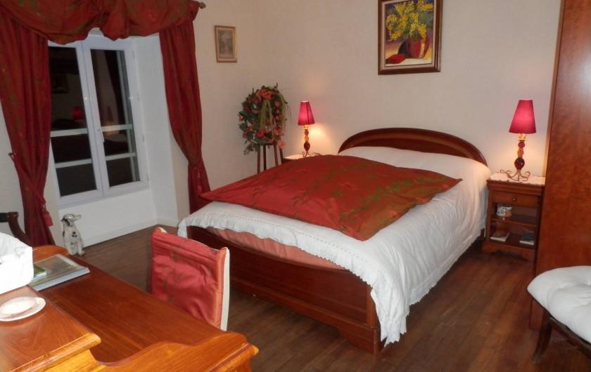 Location de vacances - Chambre d'hôtes à Melrand - Chambre Capucine