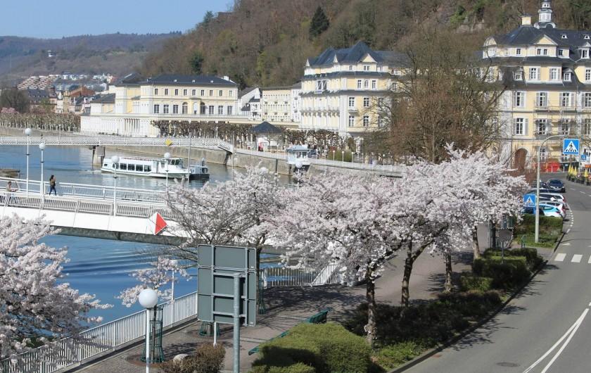 Location de vacances - Appartement à Bad Ems - Vue balcon - Kaiserpromenade