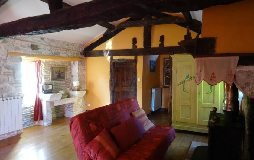Location de vacances - Gîte à Puylaroque - LE SALON
