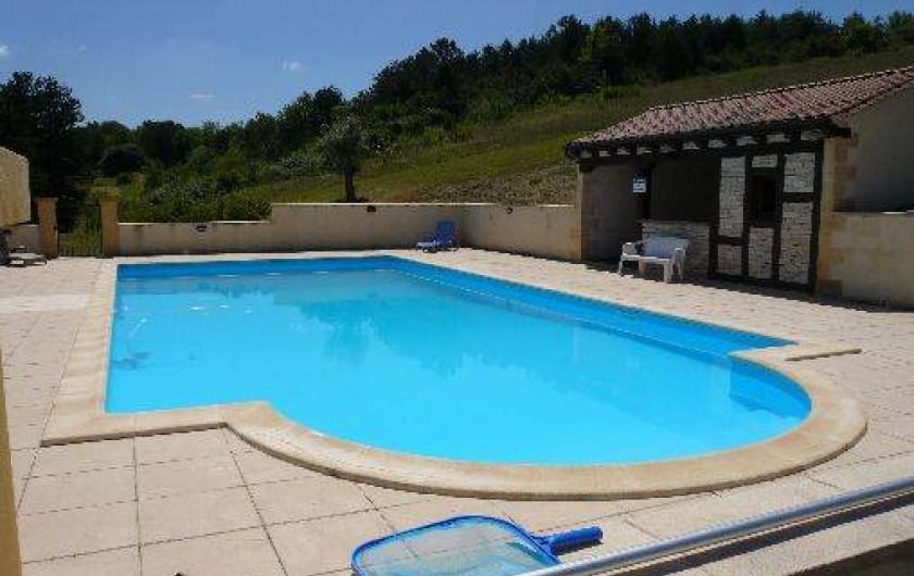 Location de vacances - Villa à Saint-Cybranet