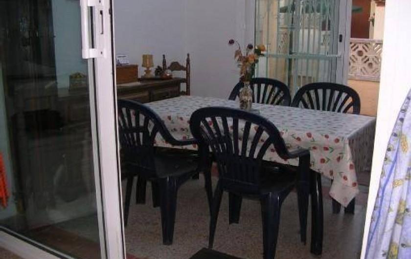 Location de vacances - Villa à Empuriabrava - la verranda