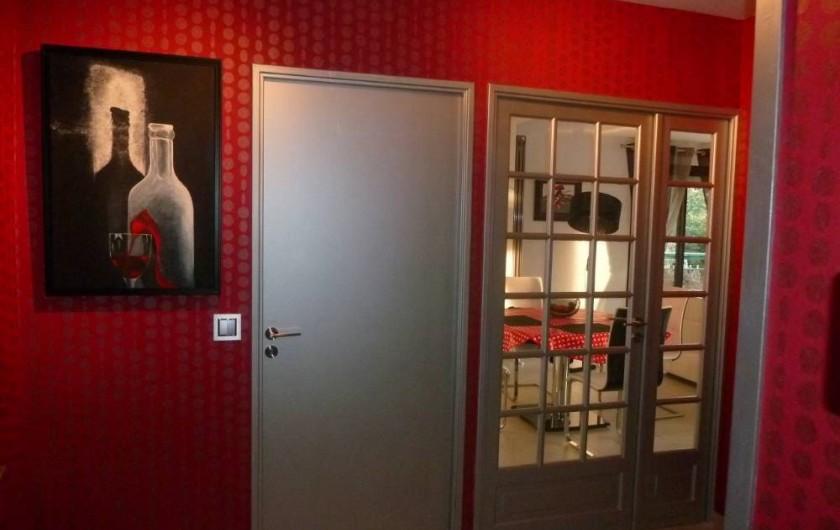 Location de vacances - Appartement à Biarritz - Entrée