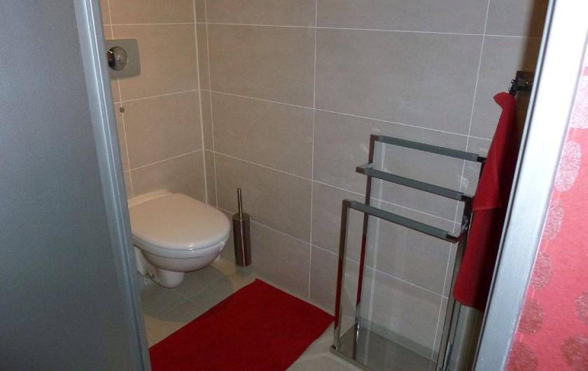 Location de vacances - Appartement à Biarritz - WC