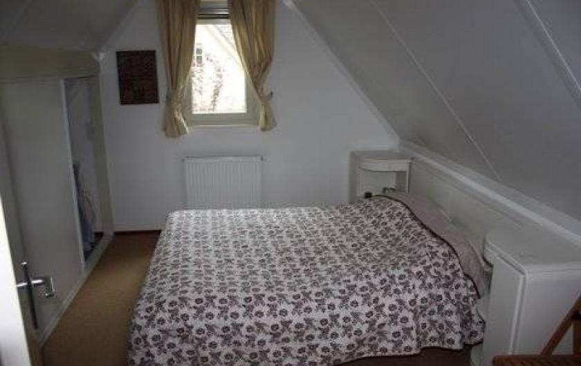 Location de vacances - Chalet à Beekbergen - slaapkamer met tweepersoonsbed