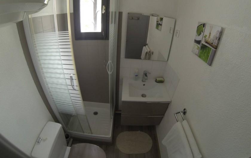 Location de vacances - Appartement à Carry-le-Rouet - Salle d'eau