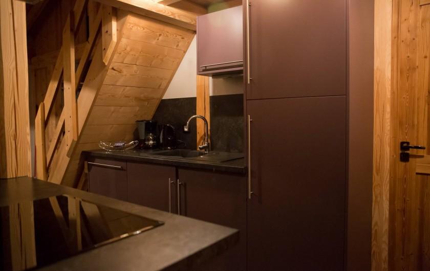 Location de vacances - Appartement à Champagny-en-Vanoise - Cuisine