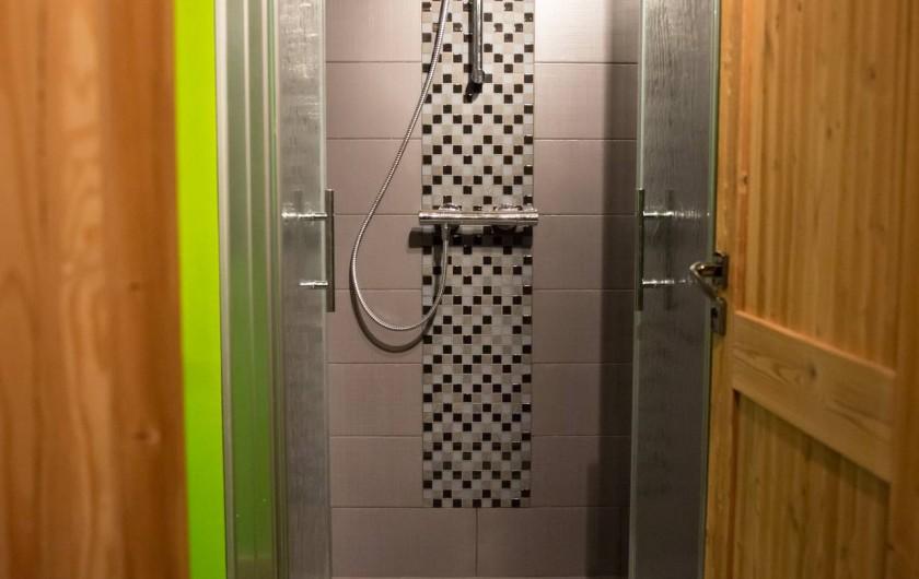 Location de vacances - Appartement à Champagny-en-Vanoise - Douche à l'italienne