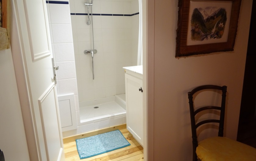 Location de vacances - Appartement à Saint-Lary-Soulan - salle d'eau chambre 5