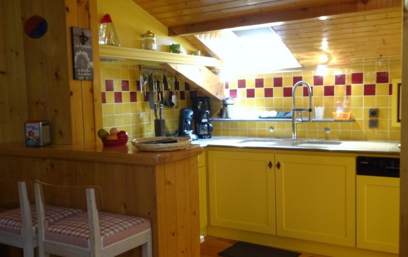 Location de vacances - Appartement à Saint-Lary-Soulan - cuisine équipée