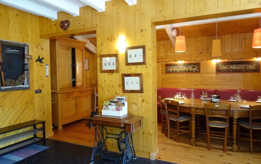 Location de vacances - Appartement à Saint-Lary-Soulan - vue salle à manger