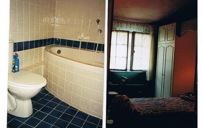 Location de vacances - Mas à Grasse - Salle de bain et chambre