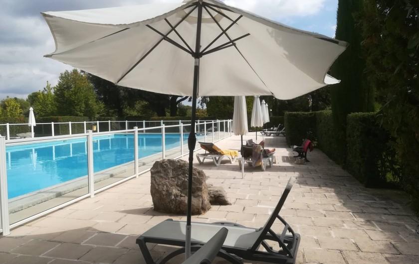 Location de vacances - Mas à Grasse - La piscine
