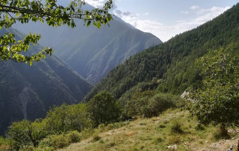 Location de vacances - Mas à Grasse - Arrière pays Niçois dans le Mercantour.