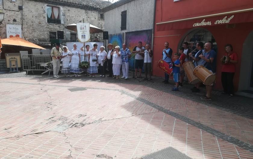 Location de vacances - Mas à Grasse - Fête des vendanges à Biot