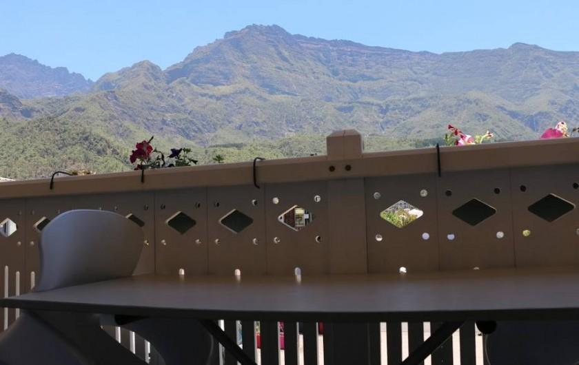 Location de vacances - Villa à Cilaos - Vue de chambre