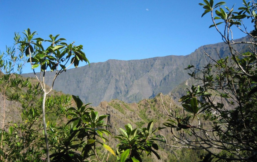 Location de vacances - Villa à Cilaos - Un sentier de randonnée