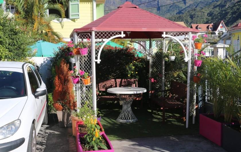 Location de vacances - Villa à Cilaos - Kiosque de jardin